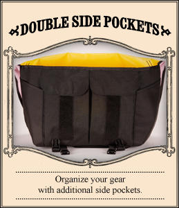 Double Side Pockets